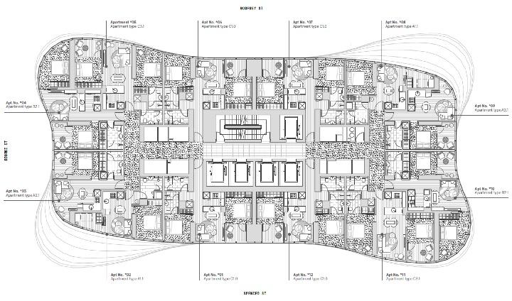 Premier Tower Floor Plate